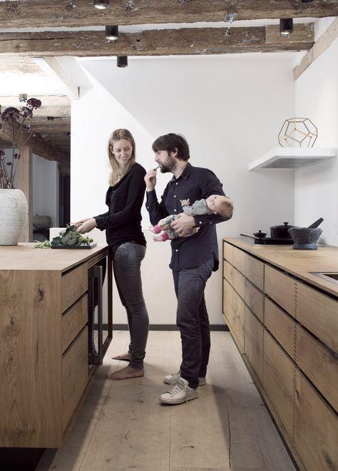 Küchen-Steckbrief #4: eine Küche in Kopenhagen von Garde Hvalsøe mit Holz von Dinesen.