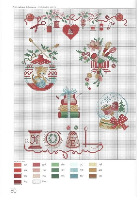 Free Printable Christmas Ornament Cross Stitch Patterns.Pinterest