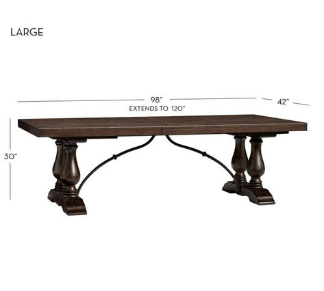 Lorraine Extending Dining Table Buffet Hewn Oak Dining Table