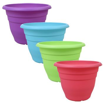 Gardening Planters Pots Plastic Planters Large Flower Pots Colorful Flower Pot
