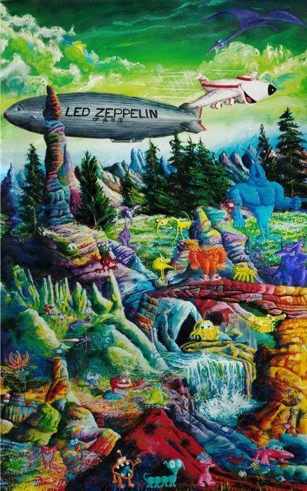 Led Zeppelin...Psychedelic Art