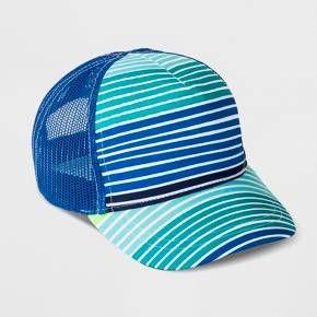 049703c38 Baby Boys' Stripe Baseball Hat - Cat & Jack™ Blue : Target | Nursery ...
