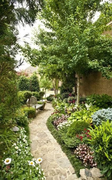 Backyard Garden Design Yard Landscaping Walkways Paths 22 Ideas Backyard Landscaping Designs Easy Landscaping Traditional Landscape