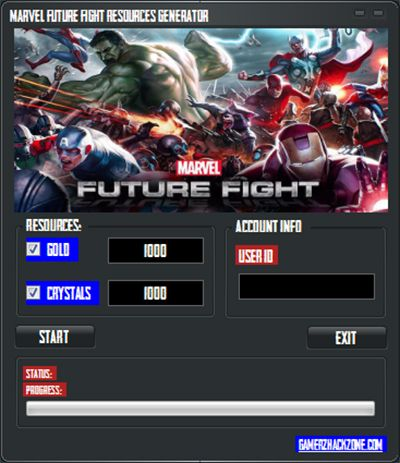 MARVEL FUTURE FIGHT HACK CHEATS ADD UNLIMITED GOLD, CRYSTALS AND ...