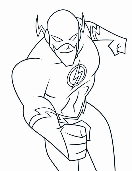 32 The Flash Coloring Book In 2020 Superhero Coloring Pages