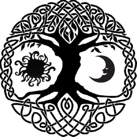 Celtic Tree Of Life Google Search Simbolos Celtas Tatuajes