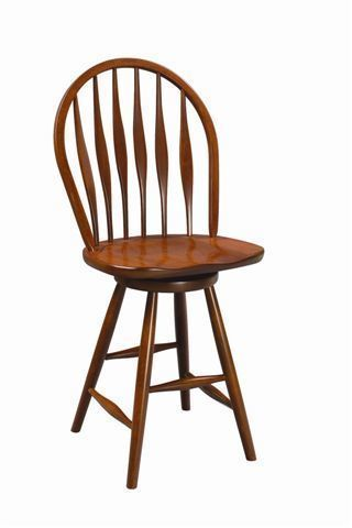 Amish Clover Swivel Barstool With Images Bar Stools Amish Furniture Windsor Style Chairs