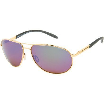 a7ae5736ff561 Costa Del Mar Wingman Polarized Sunglasses - Costa 580 Glass Lens  Gold Green Mirror
