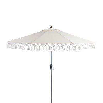 Patio Umbrellas With Fringe Decordip Com Patio Umbrellas Patio Outdoor Patio Umbrellas Patio umbrella with white pole