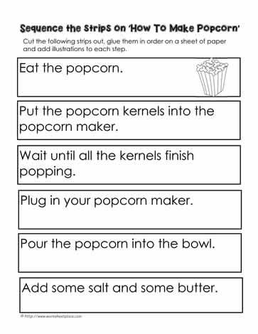 Procedure How To Make Popcorn With Images Procedural Writing