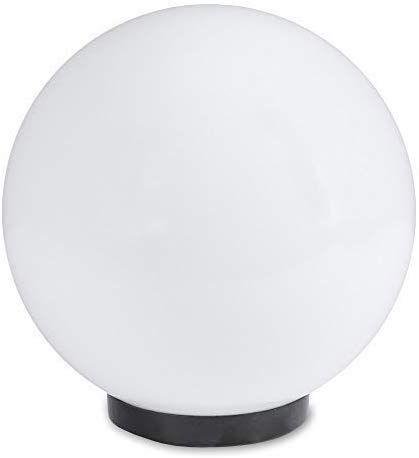 Lampe Spherique 20 Cm O Blanc De Jardin Eclairage D Exterieur Eclatante Beau Deco Pour Interieur Exterieur Eclairage Boul En 2020 Eclairage Exterieur Eclairage Lampe