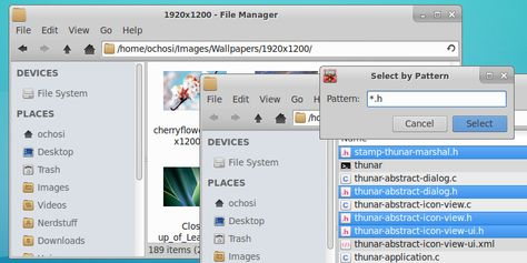 Thunar is the file manager for the Xfce Desktop  It has been