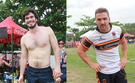 9 hot and hunky rugby players at the Manila10s
