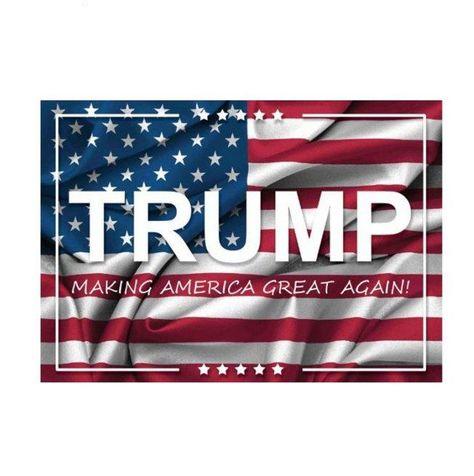 Trump Make America Great Again Rambo Bazooka Flag 2020 MAGA Flag Banner
