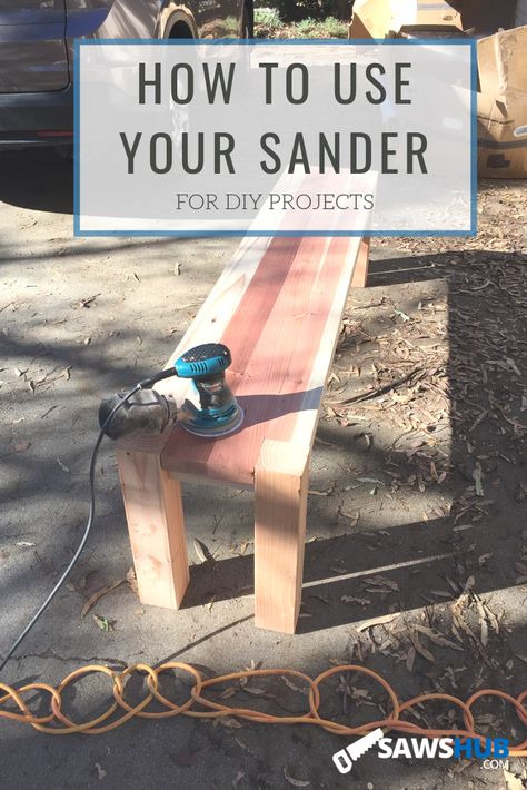 Learn how to use a sander in our complete guide. Finish your woodworking project in style with this DIY guide. #sawshub #sander #finishwork #woodworking #DIY