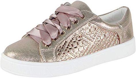 Buy Cambridge Select Women's Glitter Crystal Rhinestone Lace