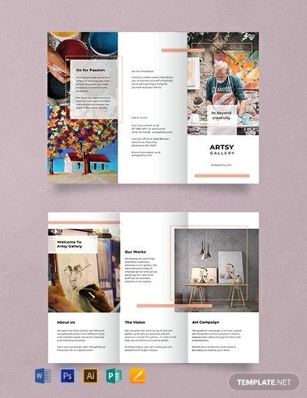 Free Creative Tri Fold Brochure Graphic Design Brochure