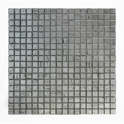 Solistone Micro Folia Glass Borage 11 3 4 In X 11 3 4 In X 3 2 Mm Glass Mosaic Tile 9 59 Sq Ft Case Mosaic Tiles Mosaic Wall Tiles Metal Mosaic Tiles