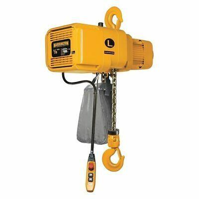 Details About Harrington Ner001hd 20 460v Electric Chain Hoist 250 Lb 20 Ft Hook Hoist Harrington House Materials