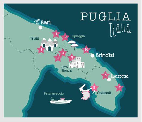 Carte Puglia