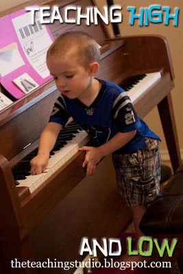 The Teaching Studio | Teaching High & Low in Music