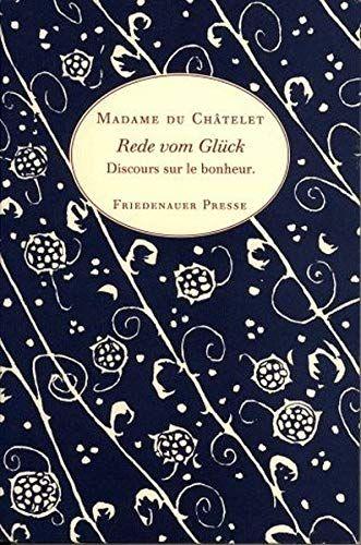 Rede Vom Gl Ck Discours Sur Le Bonheur Wolffs Broschur Ck Discours Gl Rede Gluck Buch Bucher Gluck