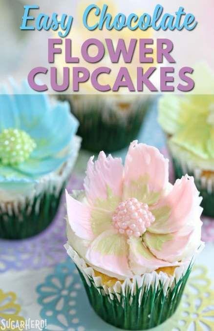 Birthday Cupcakes Flowers Simple 39 Ideas Flowers Cupcakes