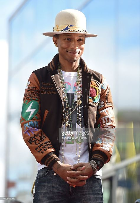 Pharrell Williams Honored With Star On The Hollywood Walk Of Fame Pictures