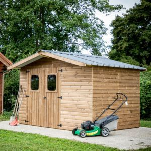 Abri De Jardin Bois Toit Polycarbonate 9 42 M Ep 28 Mm Soleil In 2020 Outdoor Structures Outdoor Power Equipment Outdoor