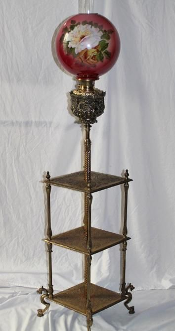 Pin On Antique Victorian Banquet Lamps