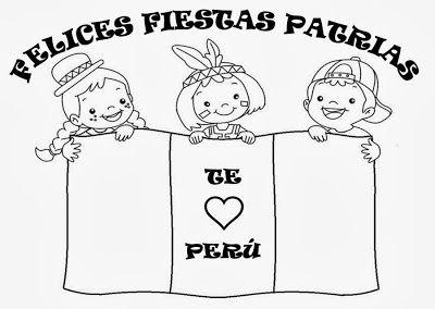 Poema Por El Dia Del Campesino Para Niños De Inicial Recursos Para Educacion Inicial Felices Fiestas Patrias Para