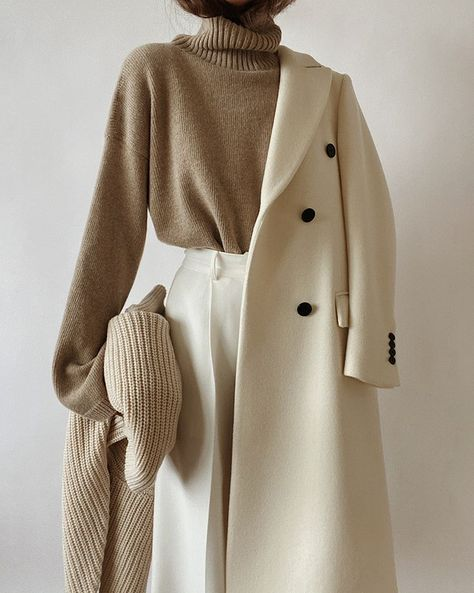 Inspiration for layering your outfit for fall #outfitideas #coat #layering Winter Fashion Outfits, Look Fashion, Korean Fashion, Winter Outfits, Autumn Fashion, Chic Womens Fashion, French Fashion, Classy Outfits, Casual Outfits