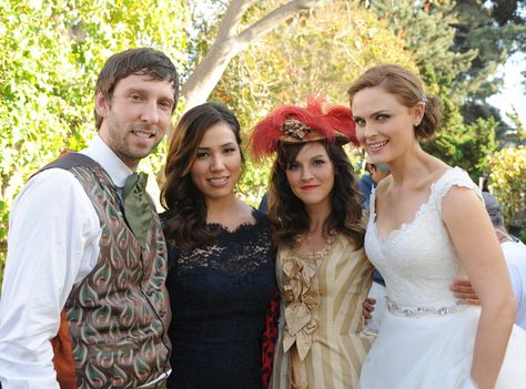 Mr. Nigel Murray, Angela Montenegro, Daisy Wick and Dr. Temperance Brennan