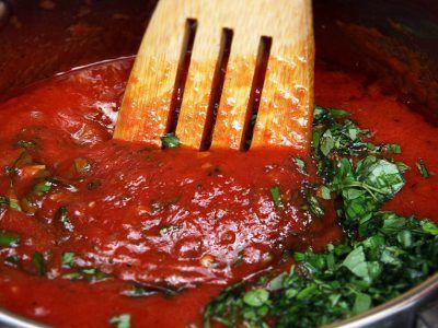 красный соус для лазаньи