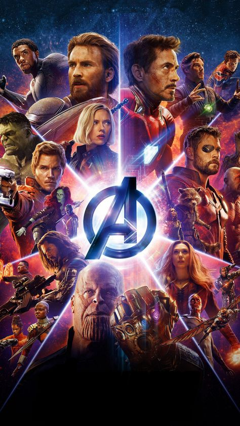 Avengers: Infinity war, superheroes, marvel, movie, poster, 2018, 720x1280 wallpaper