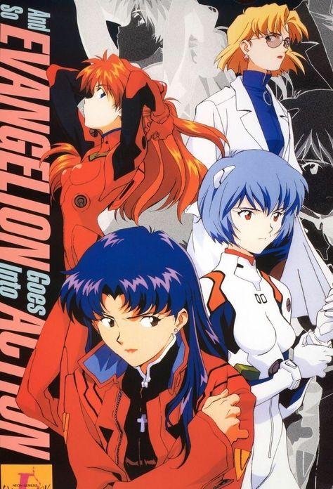 Art Anime, Anime Kunst, Manga Art, Neon Genesis Evangelion, Poster Art, Poster Prints, Wall Prints, Japanese Poster Design, Posters Vintage
