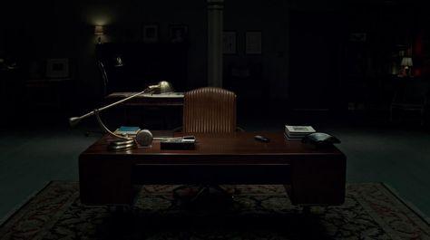 Hannibal Lecteru0027s Office interior Pinterest - bumper designer bett marc newson hochwertiger schlaf