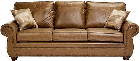 Sunrise Coast Amadora Faux Leather Sofa