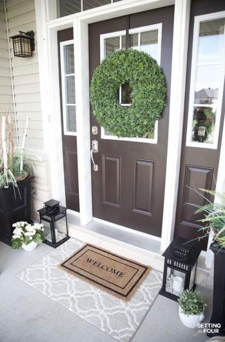 Double Front Door Ideas Lanterns 40 Trendy Ideas Door Front