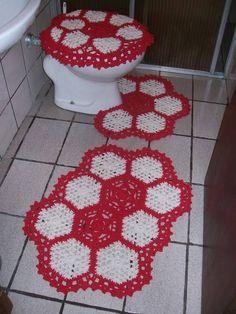 Jogo De Banheiro Em Croche Em 2020 Jogos De Banheiro Jogos De Banheiro Croche