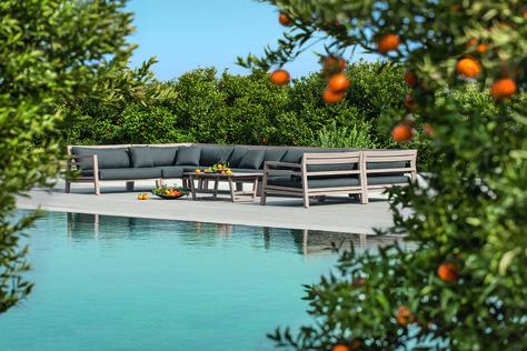 Ethimo, des meubles outdoor à l\'esthétisme méditerranéen ...