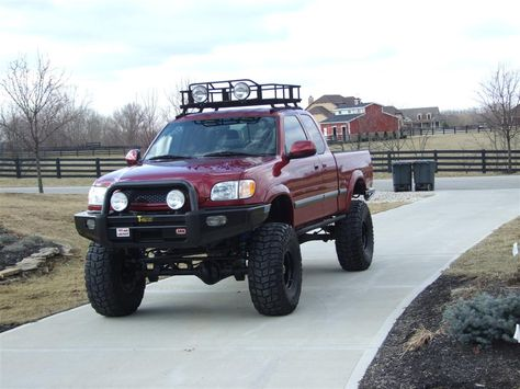 Looks Just Like Mine Except All The Mods I Can T Afford Lol Solid Front Axle Custom Bumpers Toyota Tundra Off Road Toyota Tundra Trd Toyota Tundra Lifted