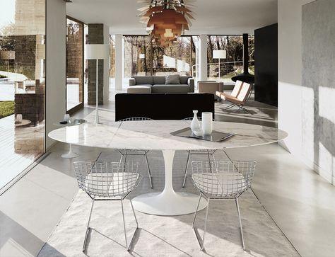 Design Icon: Knoll Saarinen Tulip Dining Table – Knoll Saarinen Tulip Large…