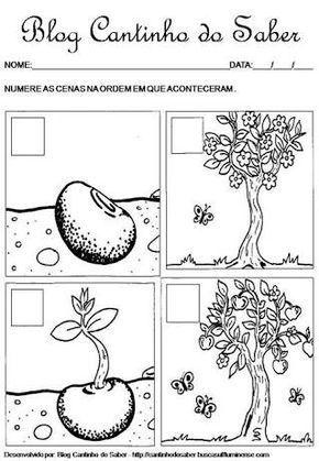 Resultado De Imagem Para Atividades Sobre A Primavera Para