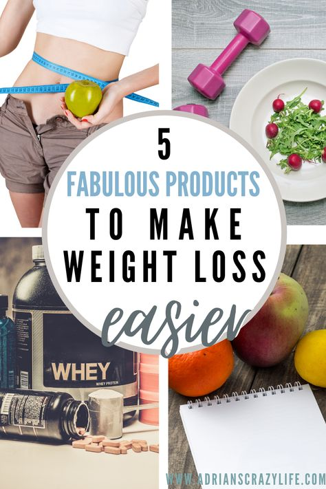5 Fabulous Products to Make Weight Loss EASIER | Adrian's Crazy Life