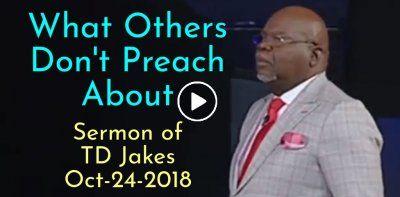 TD Jakes Sermons t