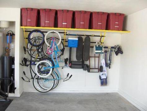 Wonderful Garage Storage Ideas You Can Build Yourself | Garage Shapeups Is Your Local Garage  Storage Company They Install | Storage Ideas | Pinterest | Garage Storage  ...