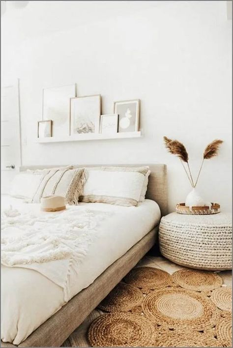 ❤20 Bohemian Minimalist Bedroom Decor Ideas You Can Copy Now