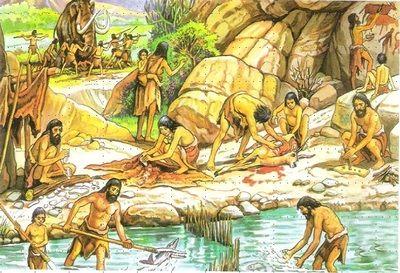 Paleolitico Y Neolitico Curso De Historia Primer Ano Neolitico Prehistoria Primaria Pintura De Sol