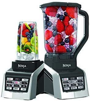 Amazon Com Nutri Ninja Countertop Blender With 1600 Watt Auto Iq Boost Base With 88oz Total Crushing Pitcher 2 24 And 1 16oz Cups Nutri Ninja Blender Nutri